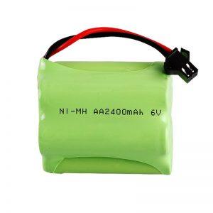 Επαναφορτιζόμενη μπαταρία NiMH AA2400 6V