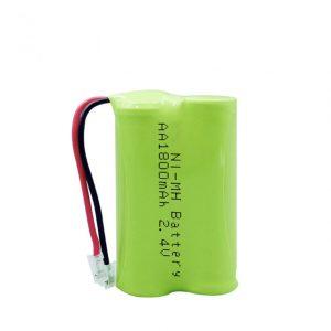 Επαναφορτιζόμενη μπαταρία NiMH AA1800mAh 2.4V
