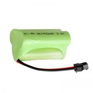 Επαναφορτιζόμενη μπαταρία NiMH AA2400 3.6V