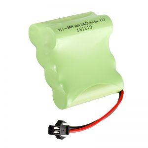 NiMH Επαναφορτιζόμενη μπαταρία AA2400 6V Επαναφορτιζόμενη ηλεκτρικά παιχνίδια εργαλεία Μπαταρία