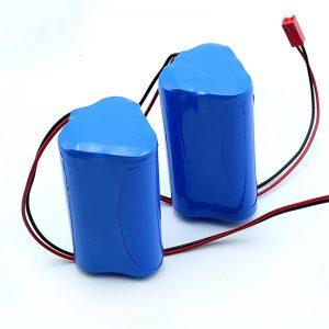 Επαναφορτιζόμενη μπαταρία ιόντων λιθίου Li-ion 3S1P 18650 10.8v 2250mah για ιατρική συσκευή