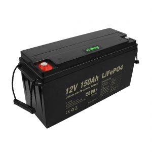 Deep Cycle Rechargeable Lifepo4 Battery 12v 150Ah 200Ah 250Ah 300Ah