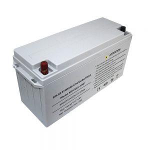 Energy Storage LiFePO4 Battery 12V 80Ah Solar Batteries for Power Supplies