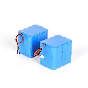 Προσαρμοσμένη επαναφορτιζόμενη μπαταρία λιθίου 18650 υψηλής απόδοσης 3s4p 12v μπαταρία ιόντων λιθίου