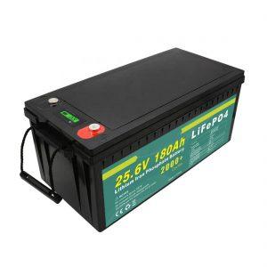 Επαναφορτιζόμενη μπαταρία 24v180ah (LiFePO4) για Solar Street Light