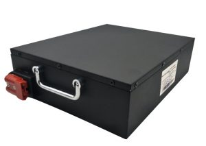 light weight 24V50Ah li-ion battery with RS4835 communication for AGV robot
