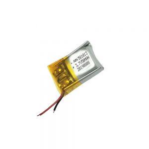 Μπαταρία πολυμερούς λιθίου υψηλής ποιότητας 3.7V 50mAh 581013 μπαταρία