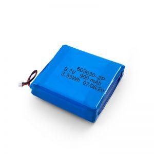 Προσαρμοσμένη επαναφορτιζόμενη μπαταρία 3.7V 450 530 550 700 750 800 900Mah Li-Po Lipo
