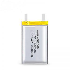 Επαναφορτιζόμενη μπαταρία LiPO 603048 3.7V 850mAh / 3.7V 1700mAH / 7.4V 850mAH