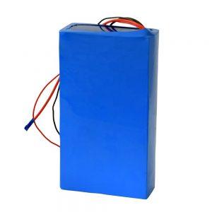 Επαναφορτιζόμενη μπαταρία λιθίου 60v 12ah για ηλεκτρικά σκούτερ