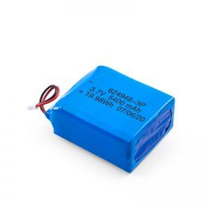 Επαναφορτιζόμενη μπαταρία LiPO 624948 3.7V 1800mAH / 3.7V 5400mAH