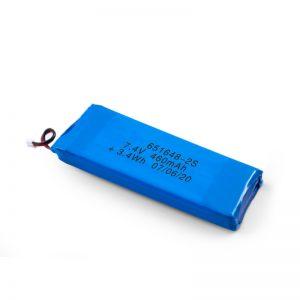 Επαναφορτιζόμενη μπαταρία LiPO 651648 3.7V 460mAh / 3.7V 920mAH / 7.4V 460mAH
