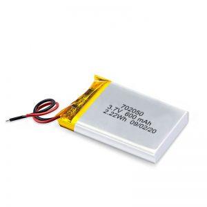Κίνα Χονδρικό πακέτο επαναφορτιζόμενων μπαταριών λιθίου 3.7V 600Mah 650Mah Mini Li-Polymer Lithium Pack