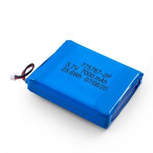 Προσαρμοσμένη μπαταρία 3.7V 2450 2600 3900 4000 4500 4700 5000 6000 9000Mah Polymer Lipo