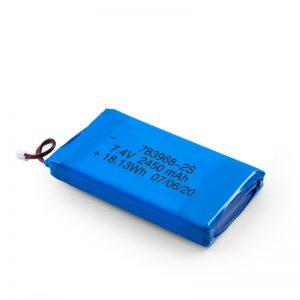 Επαναφορτιζόμενη μπαταρία LiPO 783968 3.7V 4900mAH / 7.4V 2450mAH / 3.7V 2450mAH /