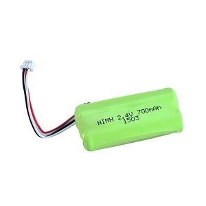 Επαναφορτιζόμενη μπαταρία NiMH AA700 2.4V