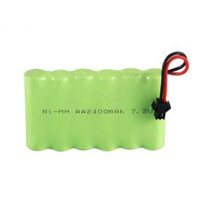 Επαναφορτιζόμενη μπαταρία NiMH AA 2400mAh 7.2V