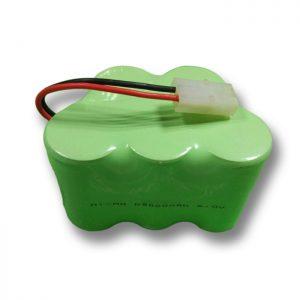 Επαναφορτιζόμενη μπαταρία NiMH D9000mAH 6V