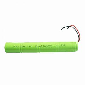 Επαναφορτιζόμενη μπαταρία NiMH SC 3600mAH 4.8V