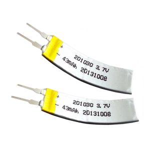 Προσαρμοσμένη μπαταρία LiPO 3.7V 43mAH
