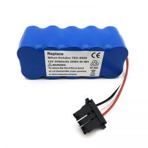 Μπαταρία 12v ni-mh για ηλεκτρική σκούπα TEC-5500, TEC-5521, TEC-5531, TEC-7621, TEC-7631